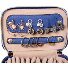 Load image into Gallery viewer, Jewelry Organizer Case<br>Dark Chambray