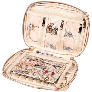 Jewelry Bag Large<br>Blossom Tan