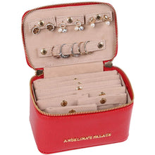Load image into Gallery viewer, Jewelry Organizer Case<br>Red
