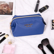 Load image into Gallery viewer, Makeup Bag<br>Dark Chambray