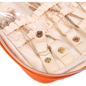 Jewelry Bag Large<br>Light Terracotta