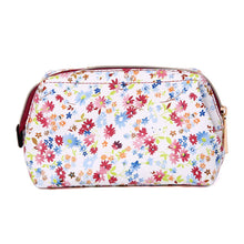 Load image into Gallery viewer, Makeup Bag<br>Blossom Wine