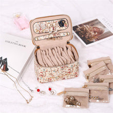 Load image into Gallery viewer, Jewelry Organizer Case<br>Blossom Tan