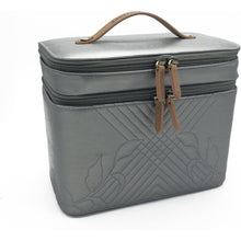 Load image into Gallery viewer, Kemi Makeup Case<br>Memory Pewter