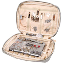 Load image into Gallery viewer, Jewelry Bag Large<br>Pearl Grey
