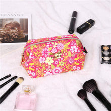 Load image into Gallery viewer, Makeup Bag<br>Blossom Fuschia