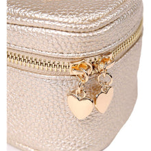 Load image into Gallery viewer, Heart Jewelry Case<br>Champagne