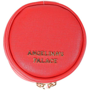 Round Jewelry Case<br>Light Red