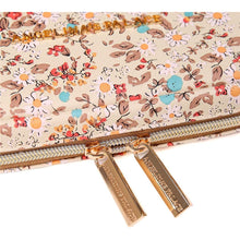 Load image into Gallery viewer, Jewelry Bag Large<br>Blossom Tan