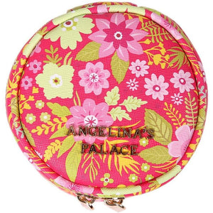 Round Jewelry Case<br>Blossom Fuschia