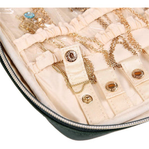 Jewelry Bag Large<br>Deep Evergreen