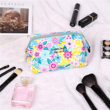 Load image into Gallery viewer, Makeup Bag<br>Blossom Blue