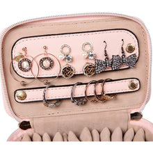 Load image into Gallery viewer, Jewelry Organizer Case<br>Soft Pink
