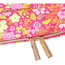 Load image into Gallery viewer, Jewelry Bag Large<br>Blossom Fuschia