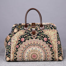 Load image into Gallery viewer, Mary Poppins Carpet Bag<br>Oriental Navy