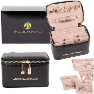 Jewelry Organizer Case<br>Black