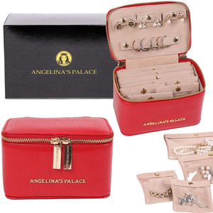 Jewelry Organizer Case<br>Red