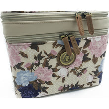 Load image into Gallery viewer, Kemi Makeup Case<br>Vintage Bloom