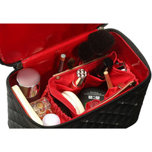 Load image into Gallery viewer, Kemi Makeup Case<br>Diamond Black