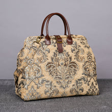 Load image into Gallery viewer, Mary Poppins Carpet Bag<br>Victorian Blossom Beige/Gold