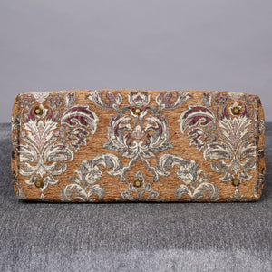 Mary Poppins Carpet Bag<br>Victorian Blossom Gold/Gold