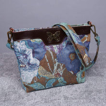 Load image into Gallery viewer, Carpet Crossbody Bag<br>Abstract Blue