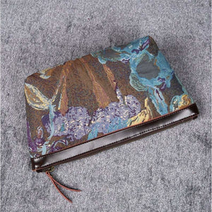 Carpet Makeup Bag<br>Abstract Blue