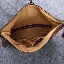 Load image into Gallery viewer, Carpet Crossbody Bag<br>Abstract Brown