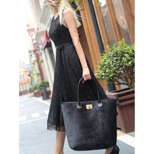 Carpet Tote<br>Black