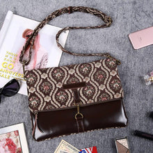 Load image into Gallery viewer, Carpet Crossbody Bag<br>Traditional Coffee