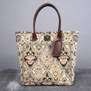 Carpet Tote<br>Golden Age Navy