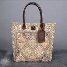 Load image into Gallery viewer, Carpet Tote<br>Golden Age Beige