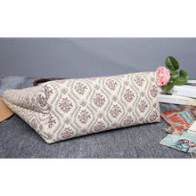 Load image into Gallery viewer, Carpet Tote<br>Traditional Cream