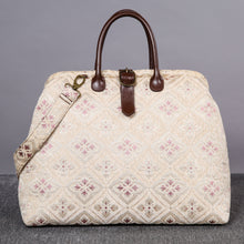 Load image into Gallery viewer, Mary Poppins Carpet Bag<br>Ethnic Cream