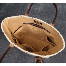 Load image into Gallery viewer, Carpet Tote<br>Ethnic Cream