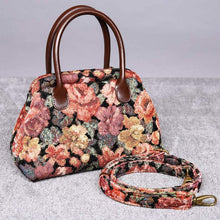 Load image into Gallery viewer, Carpet Handbag<br>Floral Rose
