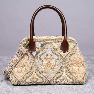 Carpet Handbag<br>Golden Age Beige
