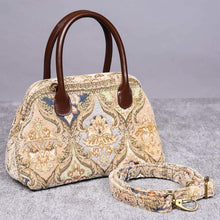 Load image into Gallery viewer, Carpet Handbag<br>Golden Age Beige