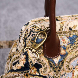 Carpet Handbag<br>Golden Age Navy