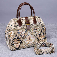 Load image into Gallery viewer, Carpet Purse<br>Golden Age Navy