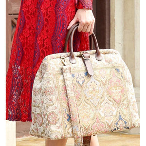 Mary Poppins Carpet Bag<br>Golden Age Pink