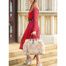 Load image into Gallery viewer, Mary Poppins Carpet Bag<br>Golden Age Pink