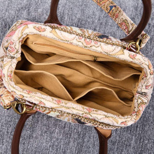 Carpet Handbag<br>Golden Age Pink