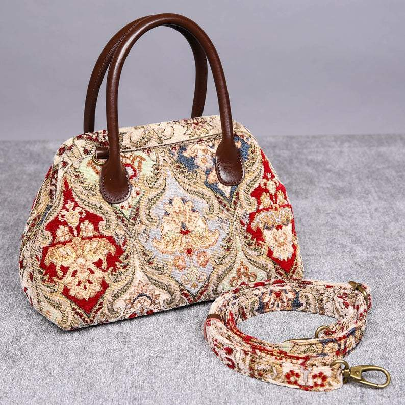 Carpet Handbag<br>Golden Age Wine