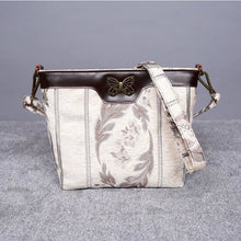 Load image into Gallery viewer, Carpet Crossbody Bag<br>Victorian Stripes Cream