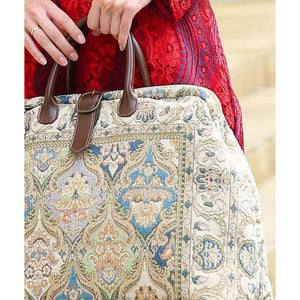 Mary Poppins Carpet Bag<br>Golden Age Blue