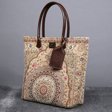 Load image into Gallery viewer, Carpet Tote<br>Oriental Beige