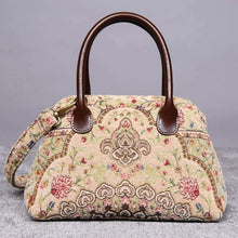 Load image into Gallery viewer, Carpet Handbag<br>Oriental Beige