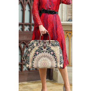 Mary Poppins Carpet Bag<br>Oriental Navy