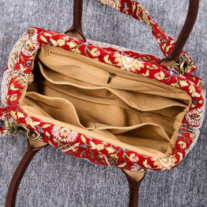 Carpet Handbag<br>Oriental Wine